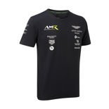 Koszulka t-shirt męski Team Navy Aston Martin Racing