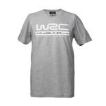 T-shirt męski szary Logo World Rally Championship 2018