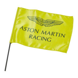 Flaga Team żółta Aston Martin Racing 2019