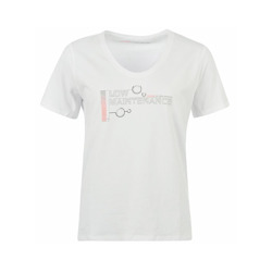 Koszulka t-shirt damski Low Maintenance Vodafone McLaren Mercedes F1 Team