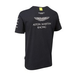 Koszulka t-shirt męski Team Navy Aston Martin Racing 2017