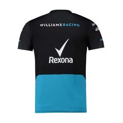 T-shirt męski czarny Team Williams Racing 2019